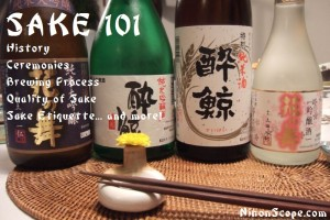 Learn the Basics of Japanese Sake -- Nihonshu