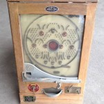 1953 evolved version of bagatelle's pachinko machine