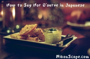 Learn How to Speak Japanese for Yummy Foods