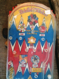 Old Handheld Pinball Kids Game