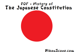 MacArthur Drafted New Japanese Constitution in 1947 Post WW2