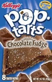 Americas Kellogs crappy chocolate fudge flavored crack tarts