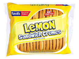 lemon cream flavored sandwich cremes cookies