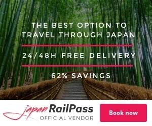 Get JR Rail Pass for %62 off