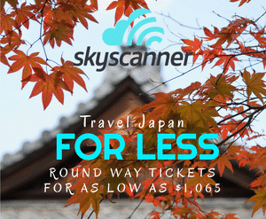 Best site for cheap flights to and from Japan