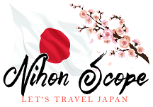 Small Logo Image Travel Japan with Nihon Scope